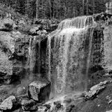 Water Falls from creek Royalty Free Stock Photography