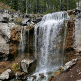 Water Falls from creek Stock Photography