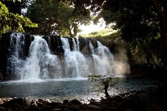 Water falls in day Light Royalty Free Stock Photos