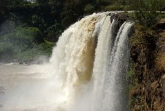 Water falls in Ethiopia Stock Images