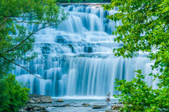 Water Falls Royalty Free Stock Photos