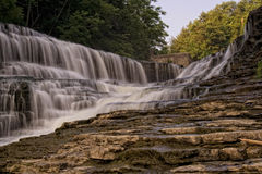 Water Falls in Ithica NY Royalty Free Stock Images