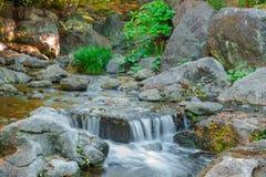 Water falls. Stock Photo