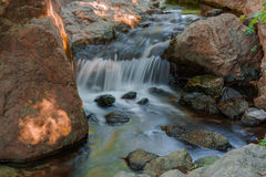 Water falls. Royalty Free Stock Photography