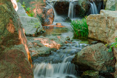 Water falls. Royalty Free Stock Photo