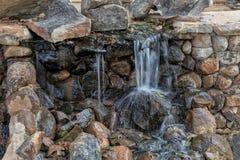 Water falls with rocks, Lubango. Angola. Stock Photography