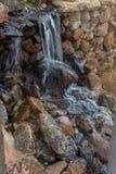 Water falls with rocks, Lubango. Angola. Stock Photo