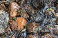 Water falls with rocks, Lubango. Angola. Royalty Free Stock Image