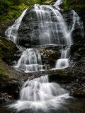 Water Falls, Stowe Vermont Stock Photography