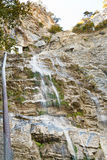 Water falls uchan-su in Crimea in autumn Stock Images