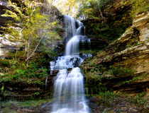 Water falls in West Virginia Stock Photography