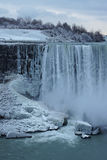 Water Falls in Winter Royalty Free Stock Photo