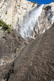 Water falls in Yosemite Stock Photo
