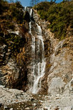 Water falls in Yumthang valley Royalty Free Stock Photography