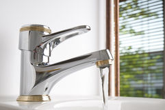 Water faucet Stock Image