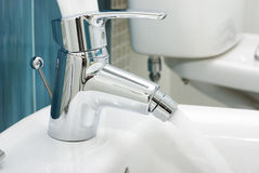 Water faucet Royalty Free Stock Photos