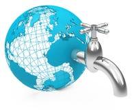 The water faucet Stock Photos