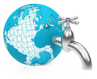 The water faucet Stock Image