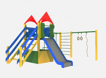 Colorful playground for children Royalty Free Stock Photography