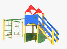 Colorful playground for  Stock Photography