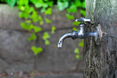 Water faucet. Public water faucet in park royalty free stock photos