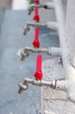 Water faucet on street Royalty Free Stock Image