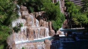 Water feature. On Las Vegas strip- Las Vegas, Nevada Stock Photo