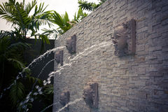 Water feature. Stock Photography