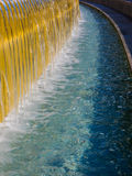 Water feature at Yerba Buena Gardens Royalty Free Stock Image