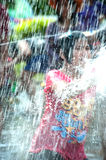 Water festival in Thailand. Royalty Free Stock Image
