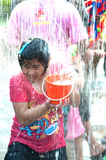 Water festival in Thailand. Stock Photography