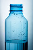 Water filled plastic bottle Royalty Free Stock Images
