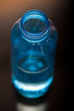 Water filled plastic bottle Stock Image