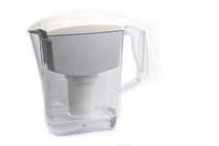 Water filter pitcher Stock Images