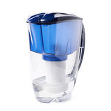 Water filter pitcher isolated Royalty Free Stock Photography