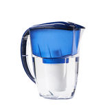 Water filter pitcher isolated Stock Image
