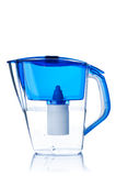 Water filter pitcher Royalty Free Stock Images