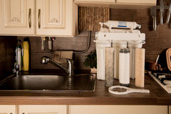 Water filter. Stock Photography