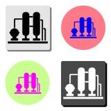 Water filter. flat icon stock illustration