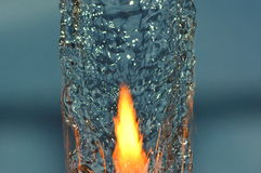 Water fire Royalty Free Stock Photography