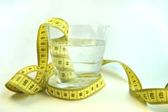 Water healthy food fitness to lose weight stock images