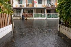 Water flood village Royalty Free Stock Photos