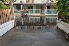 Water flood village Royalty Free Stock Image