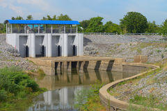 Water floodgates Stock Image
