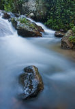Water flow. Clam water flow Asia Thailand Stock Photo