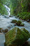 Water flow. Clam water flow Asia Thailand Stock Photos