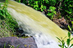 The water flow Royalty Free Stock Photography
