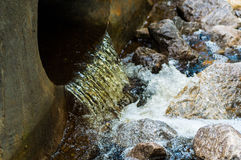 Water flow Royalty Free Stock Images