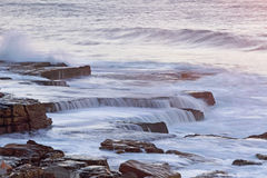 Water flow mistral point Royalty Free Stock Photography