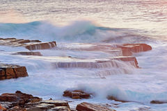 Water flow mistral point Stock Images